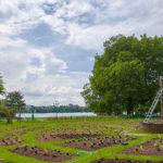 Inauguration du jardin potager réalisé dans le cadre du Festival Annecy Paysages