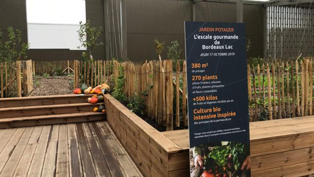 Inauguration du nouveau Pôle de restauration de Bordeaux Lac et de son jardin potager