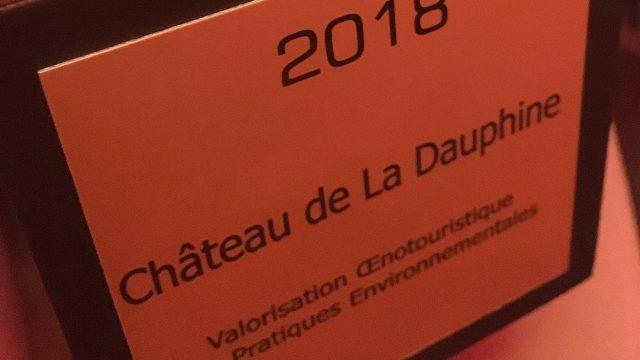 Best of d'Or pour le projet au Château de la Dauphine