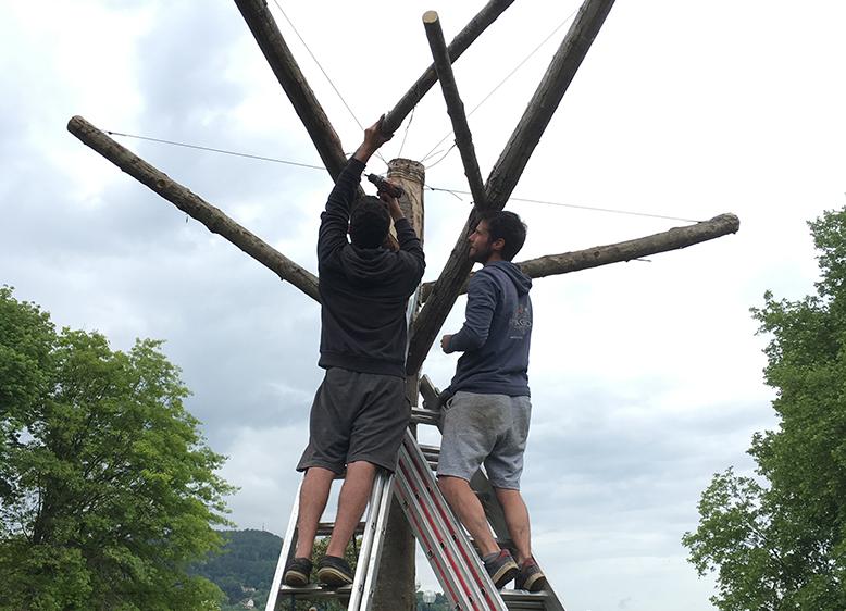 Deuxième semaine de chantier à Annecy
